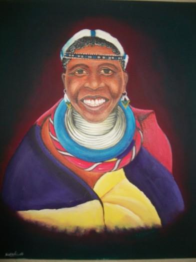 Ndebele Woman